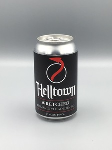 **LOCAL** Helltown - Wretched (12oz Can)